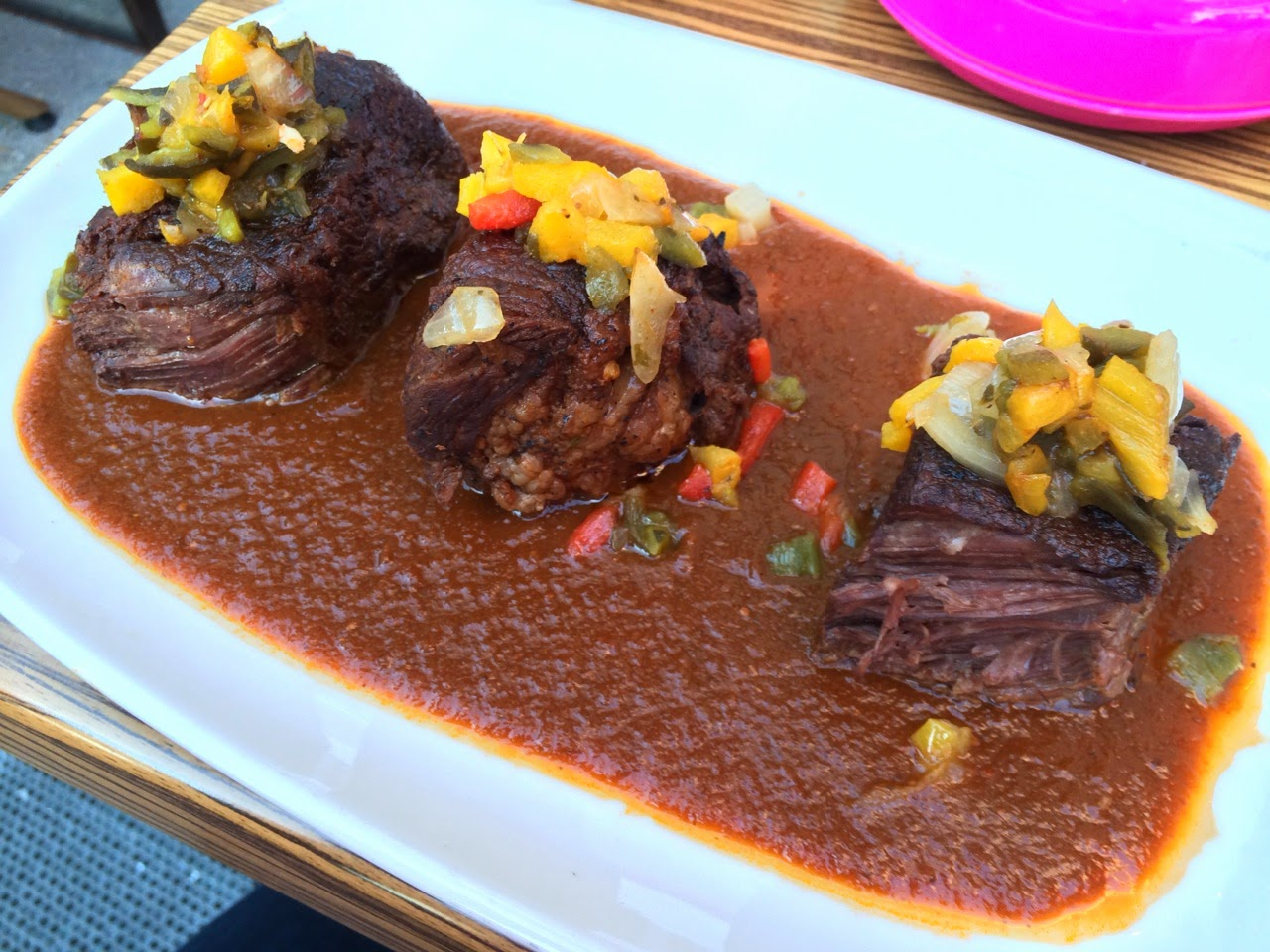 Rosa Mexicano Braised Short Ribs