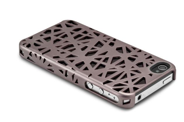 Læder Cover iPhone 4