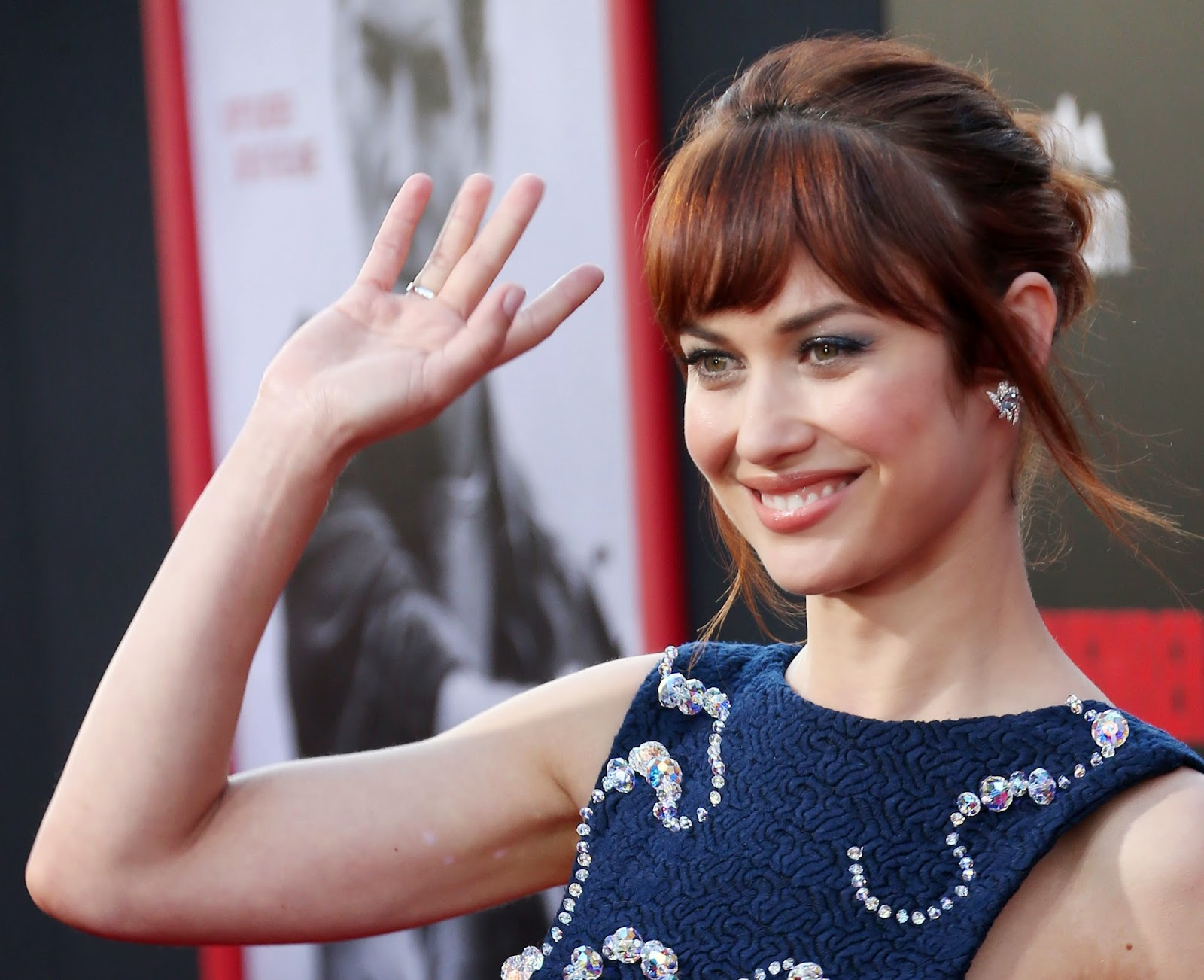 "Olga Kurylenko HD Pictures | ""The November Man"" Premiere with Olga Kurylenko"