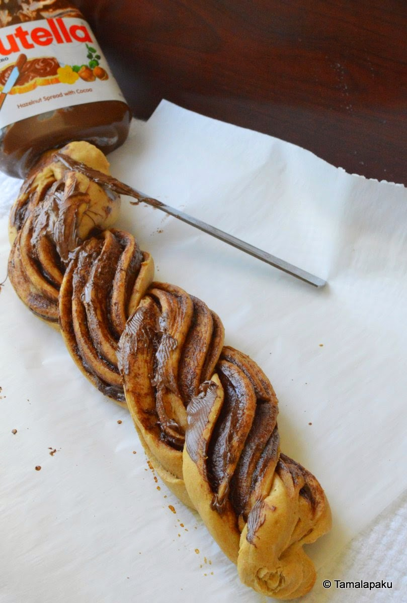 Nutella Braided Bread