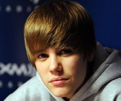 Justin Bieber Short Hairstyle 2012