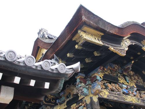 Higurashi Gate, Nishi-Honganji Temple, Kyoto