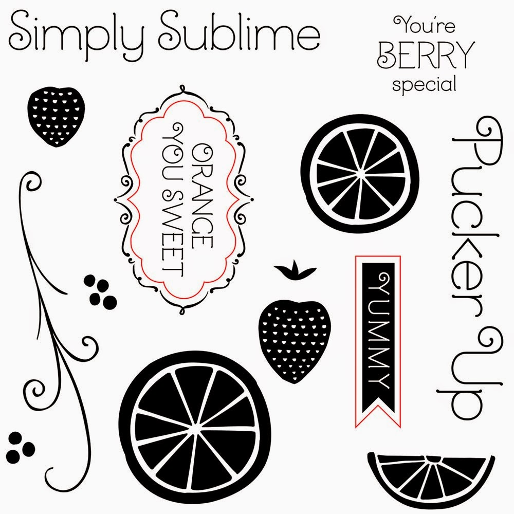 Sweet Taste of Summer stamp set
