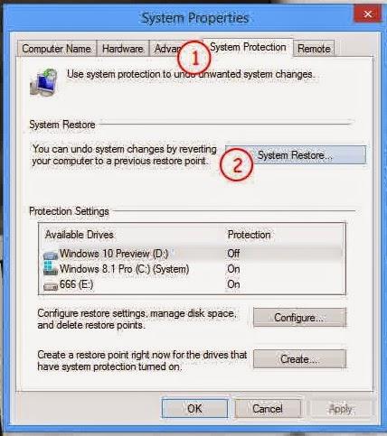 Cara Restore Windows 8 / 8.1