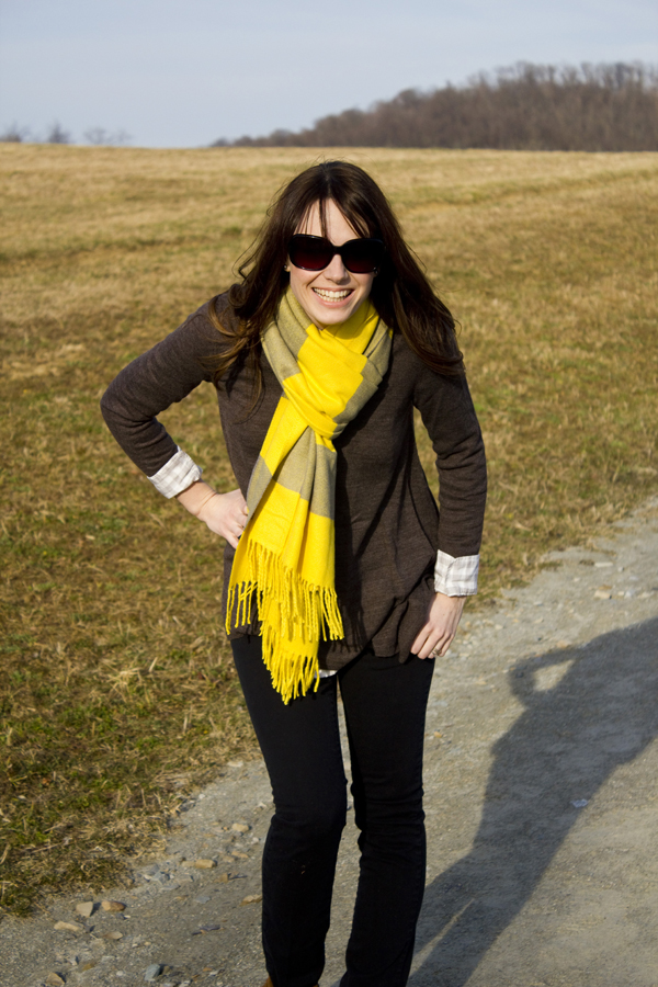 The Forge: {style files} neon scarf and moccasins