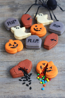 halloween trick-or-treat cookies