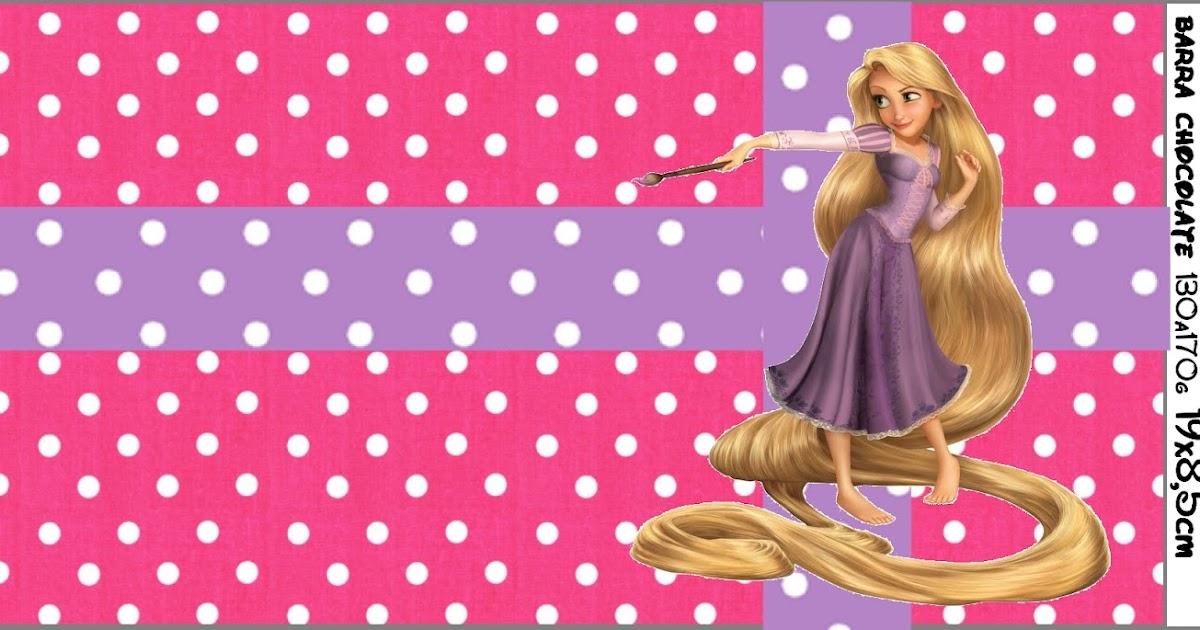 Invitación Enredados (Rapunzel) para Imprimir Gratis - Mi