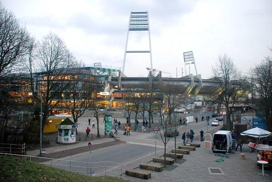 Stadion Werderu Brema - fot. Tomasz Janus / sportnaukowo.pl
