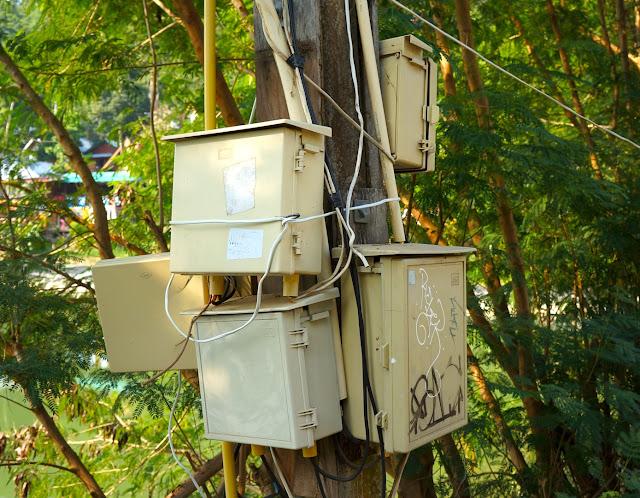 Disjoncteurs en Thailande à Koh Phi Phi