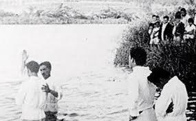 Daniel Berg e Batismo