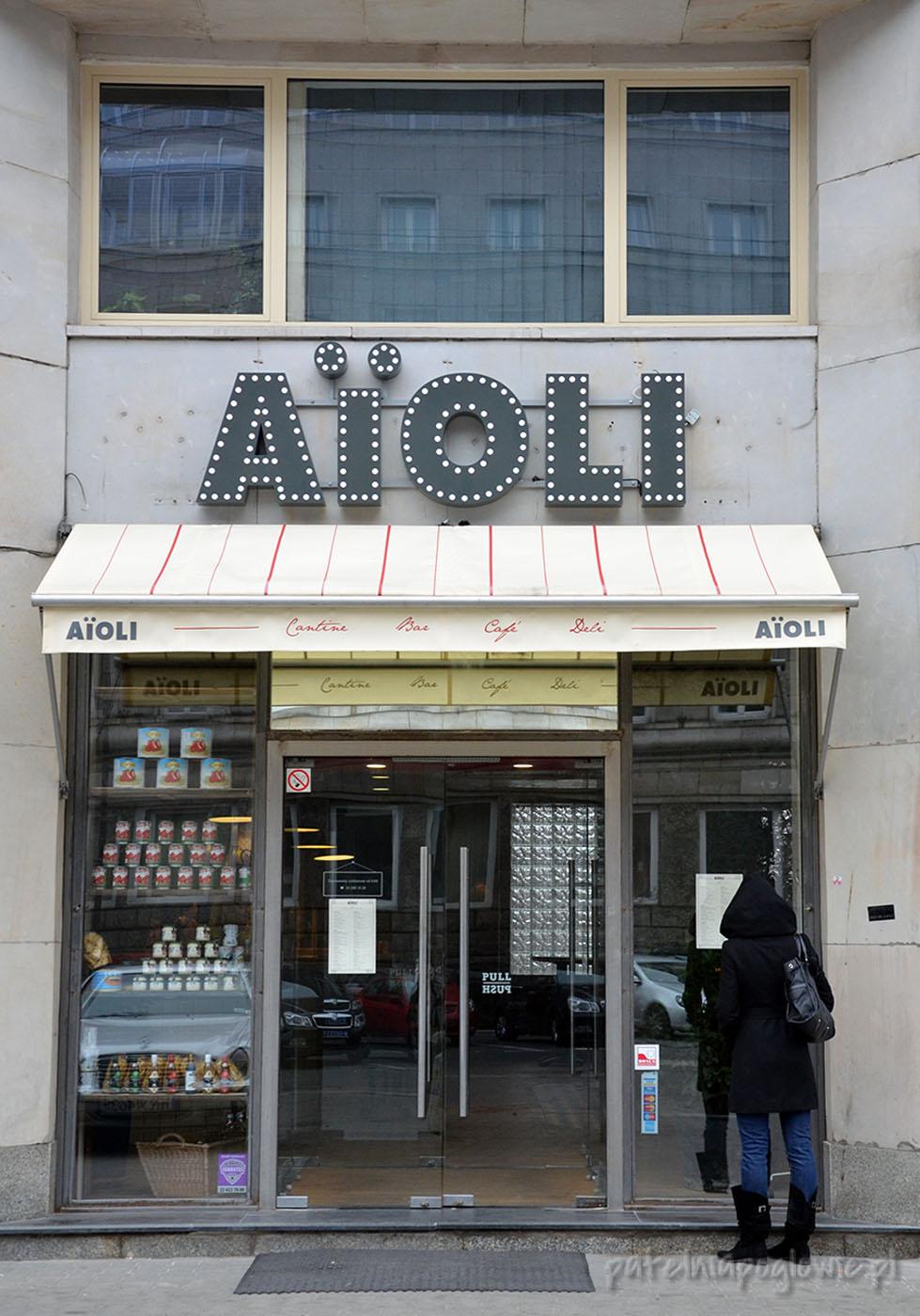 aioli, bar, cafe, piekarnia, delikatesy, warszawa, śniadanie