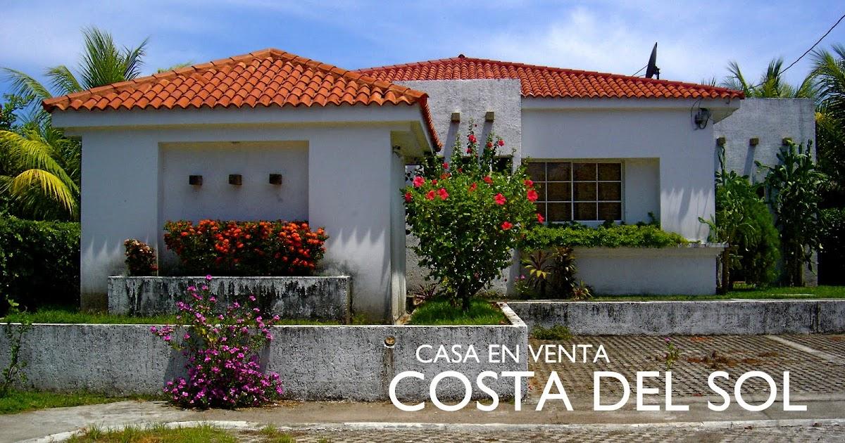 Bonita casa en venta en costa del sol el salvador for Casa costa costo area della baia