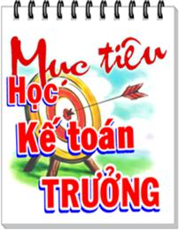 Học KẾ TOÁN TRƯỞNG