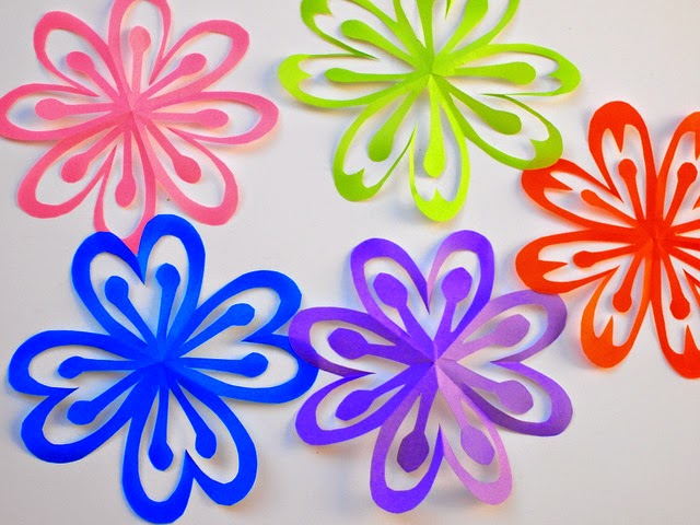 Flower paper cutout boatremyeaton flower paper cutout mightylinksfo