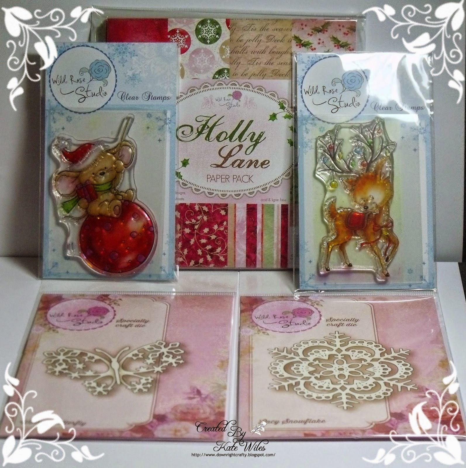 Wild Rose Studio Mega Christmas 2014 Candy