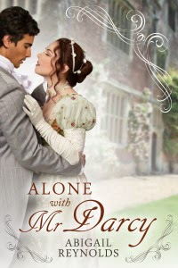 Book cover: Alone with Mr Darcy by Abigail Reynolds