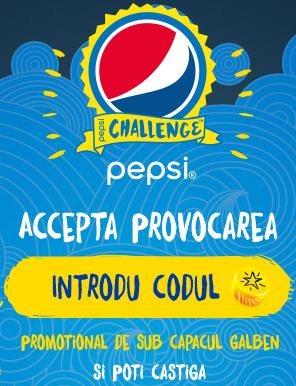 www.AcceptaProvocarea.ro Pepsi concurs 2015