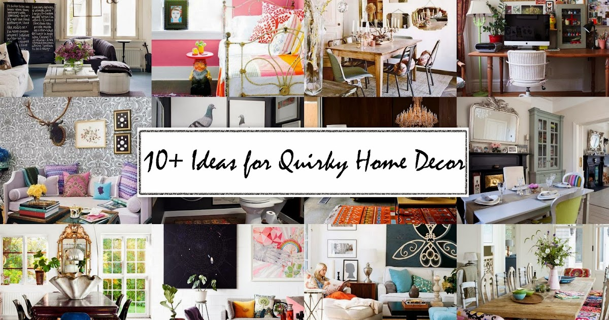 number fifty three 10 ideas for quirky home decor