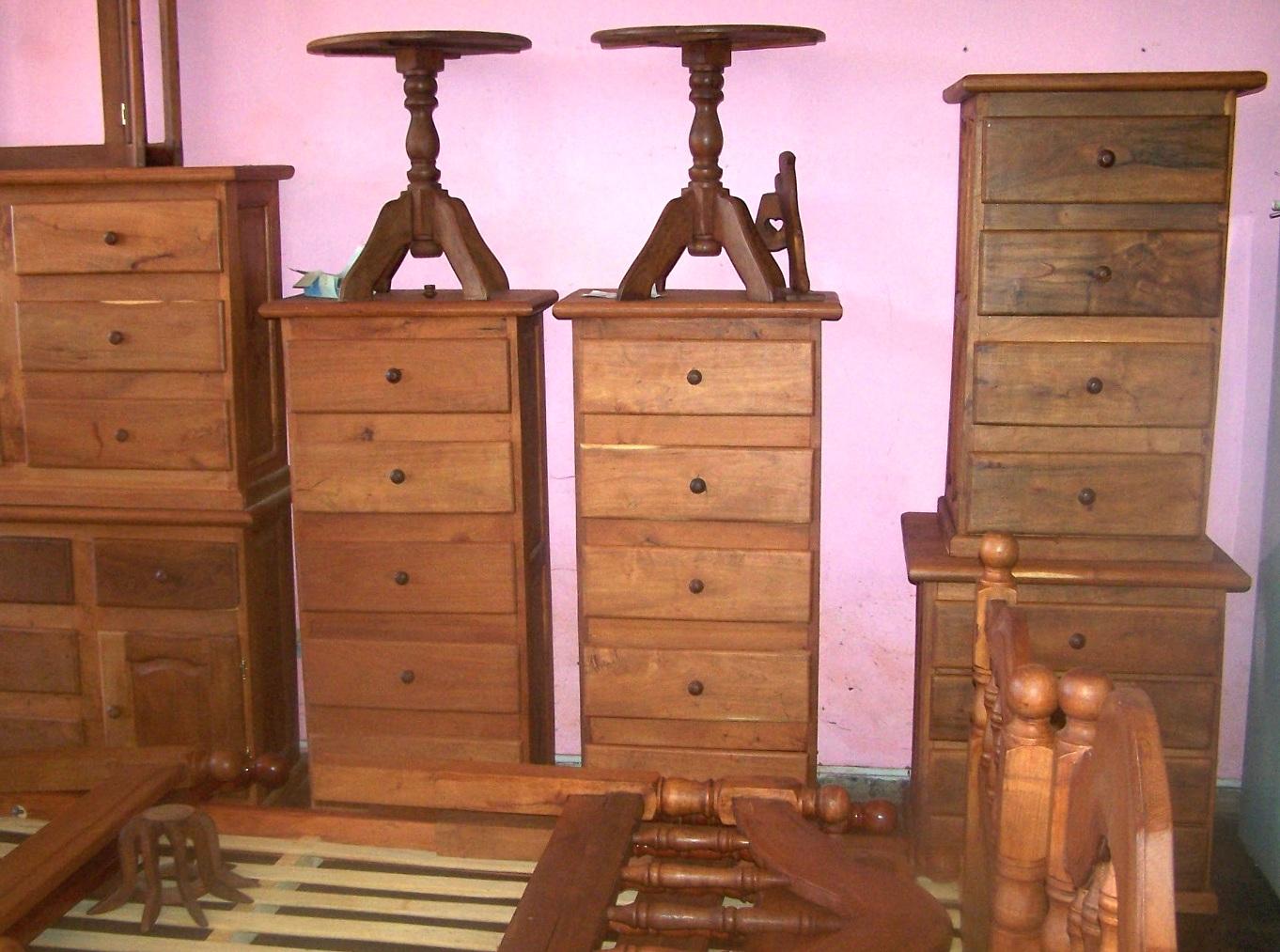 Living De Algarrobo Decoracion ~ VIVIENDA JUAN ALGARROBO  6  Muebles de Algarrobo  Juego de Living