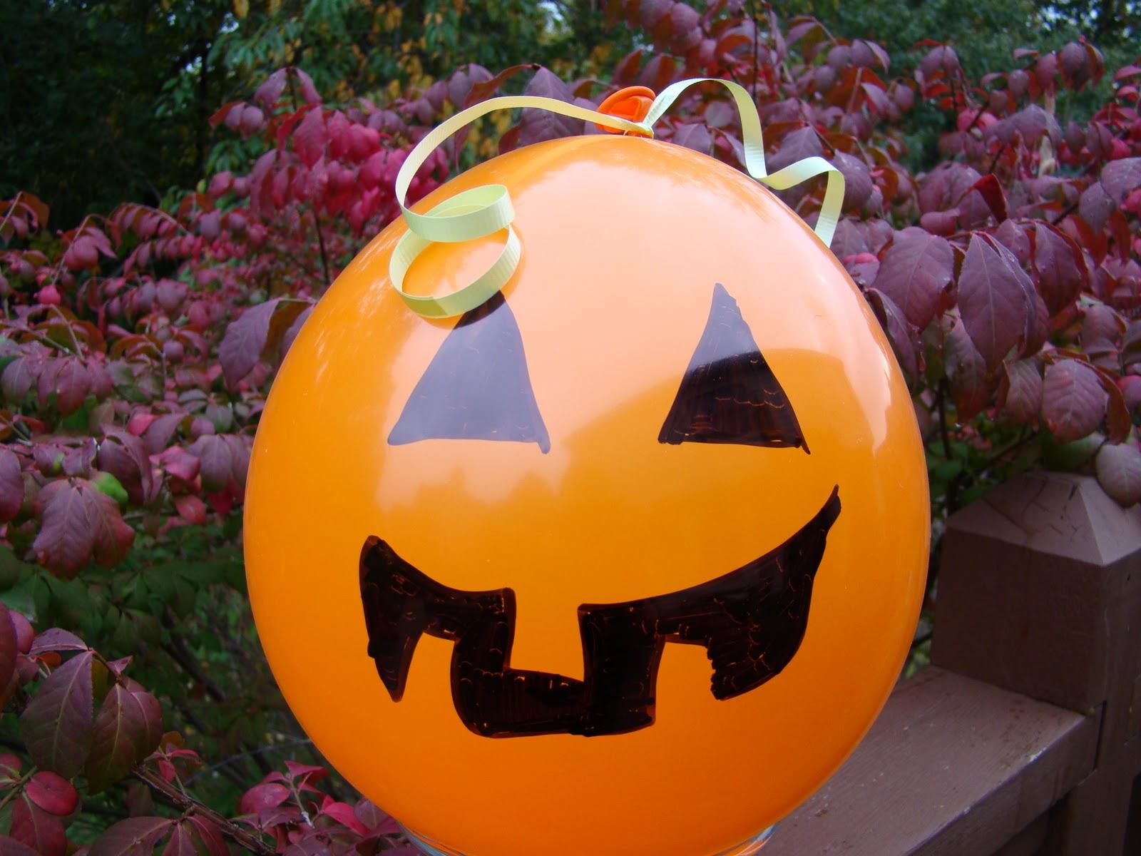 Baul de ilusiones manualidades para halloween - Decoracion calabazas halloween ...