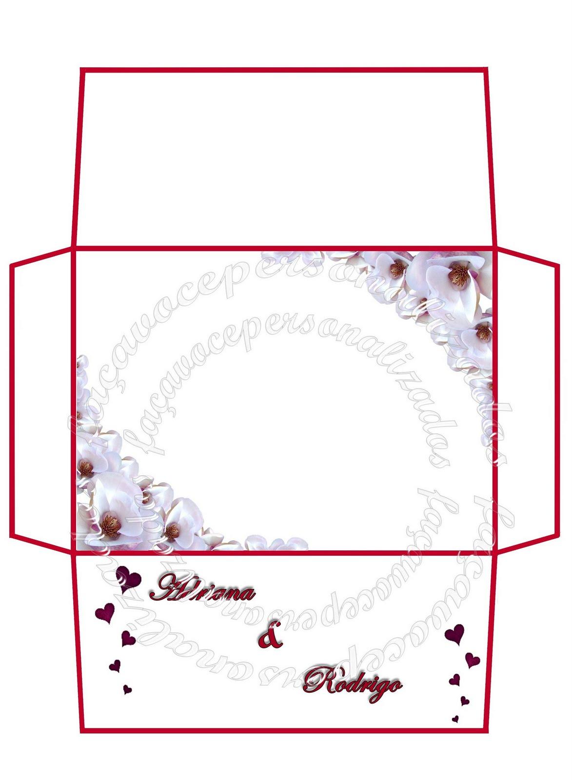 Preferência Faça você personalizados: Artes para convites casamento FL06