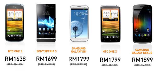 Jom pilih handphone guna rebat RM 200