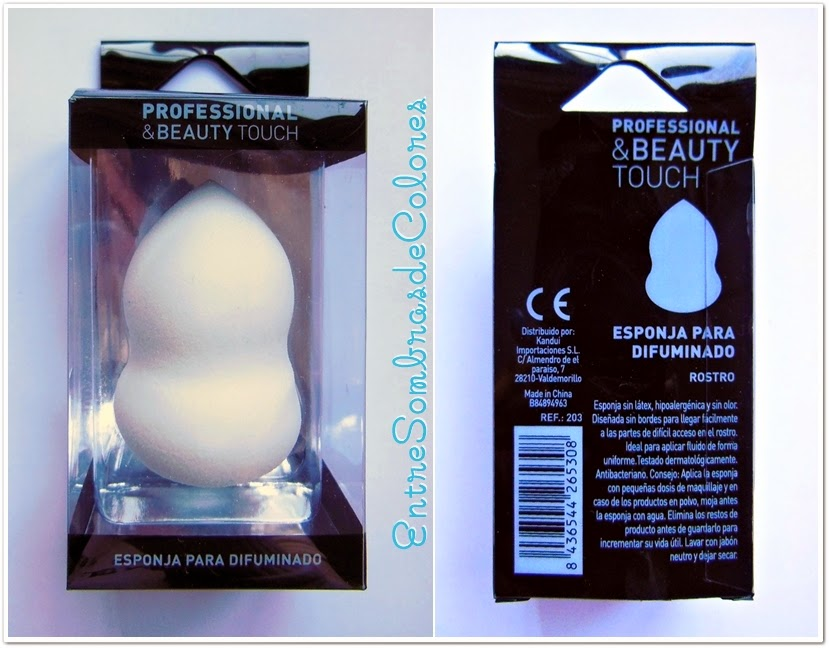 Esponja de maquillaje Professional & Beauty Touch Bodybell