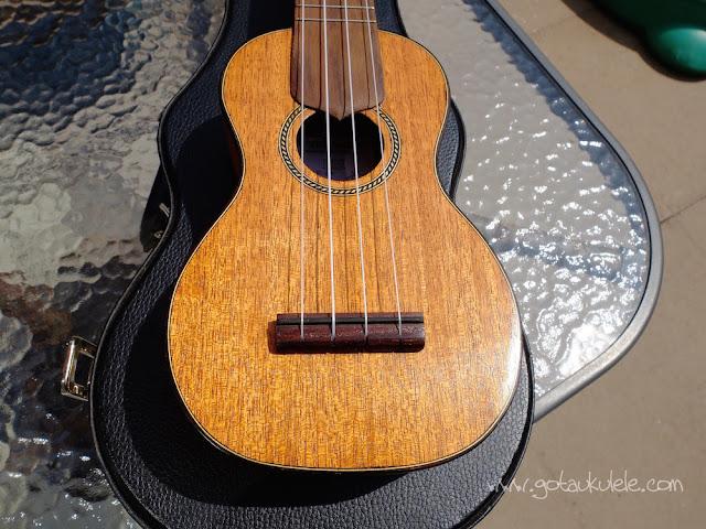 Wunderkammer Ike Soprano ukulele body