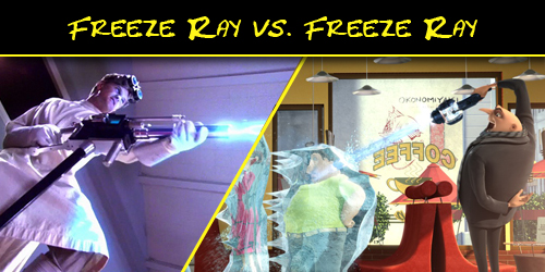 Gru Freeze Ray