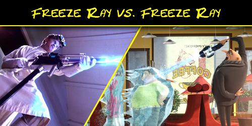 Gru Freeze Ray