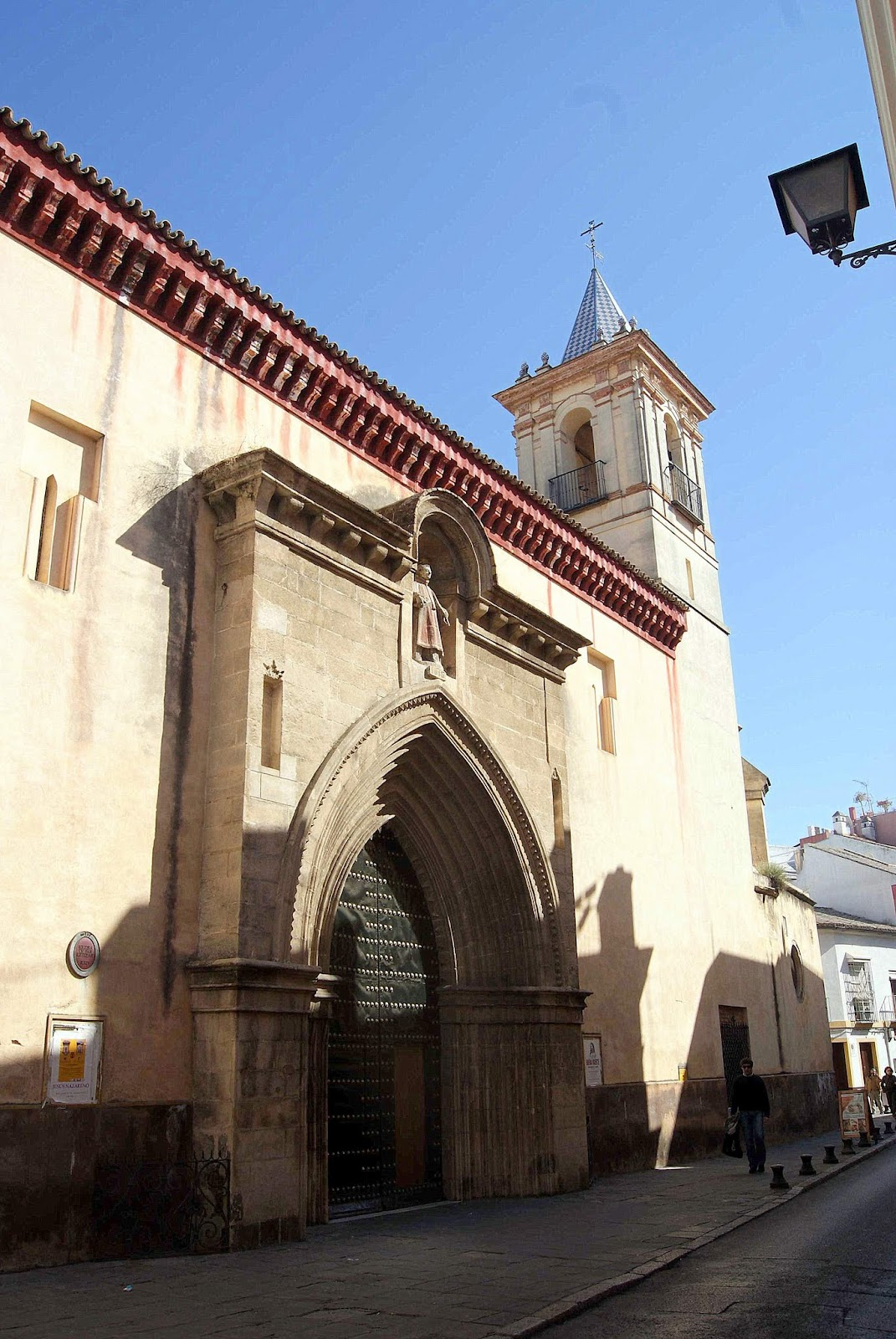 Leyendas de Sevilla: Iglesia de san Esteban, -I.