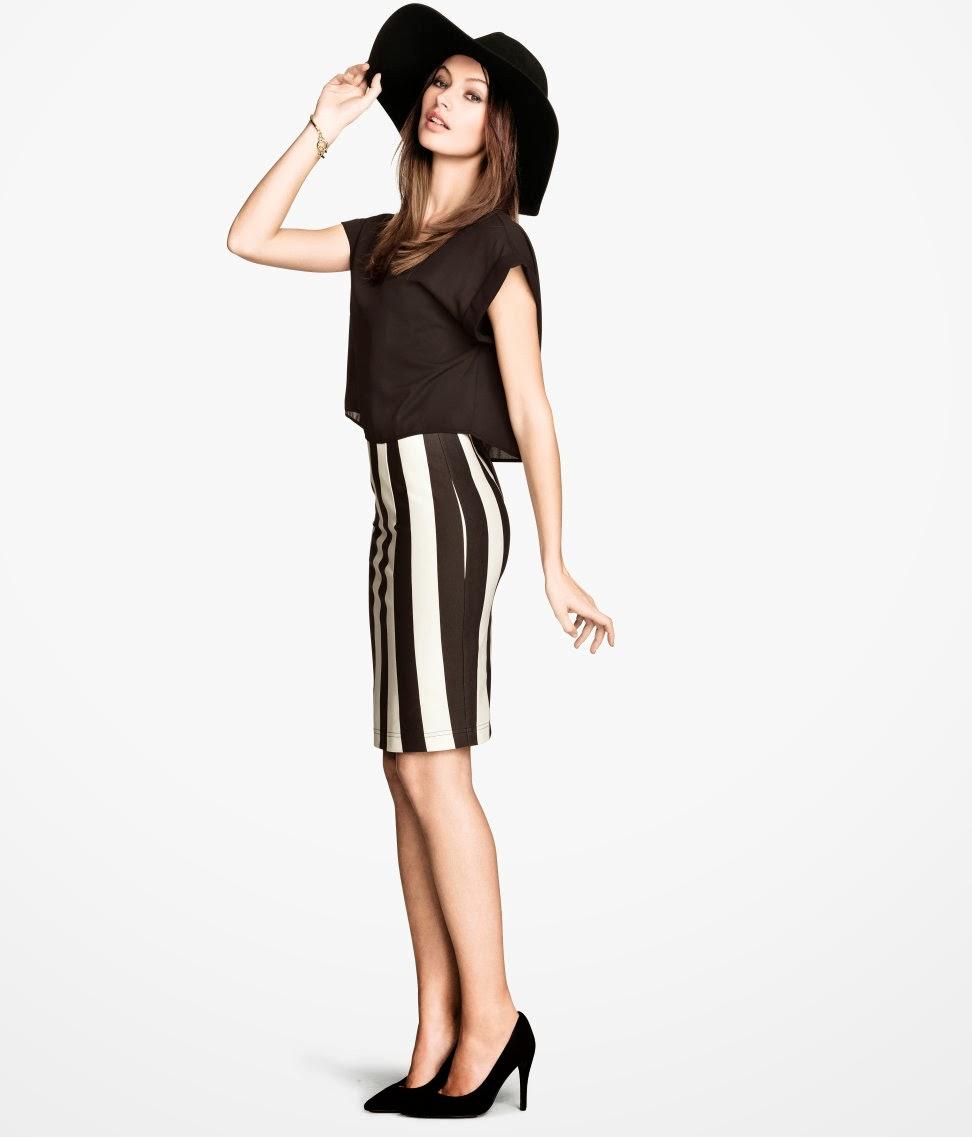 iki+par%C3%A7a H & M 2014 Sommer Kleidung Models