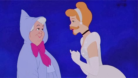 Disney's Cinderella with a Beard