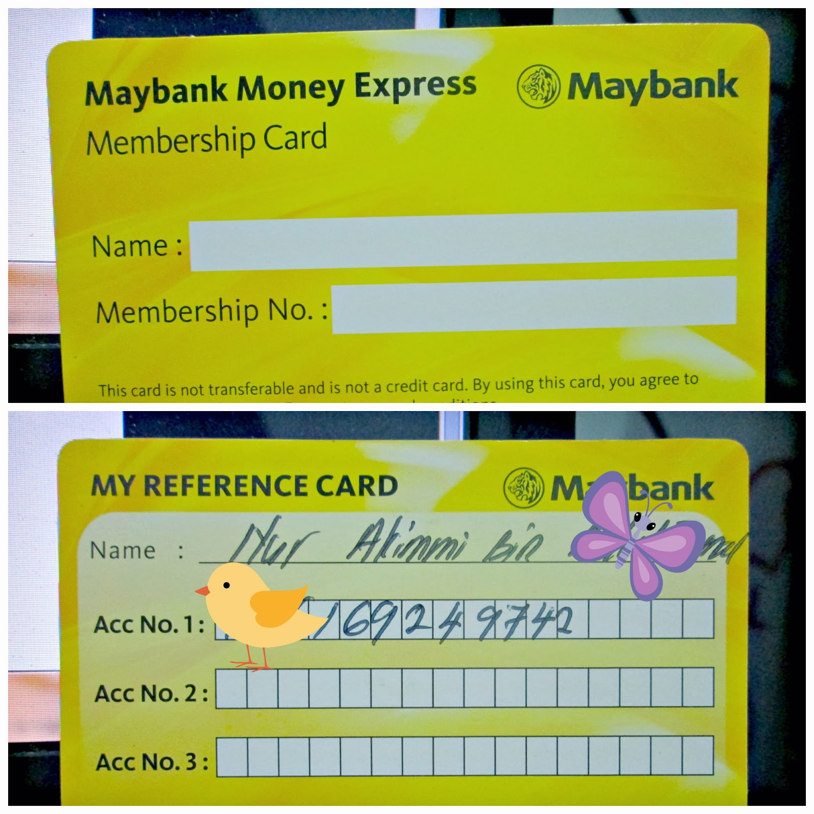 Spice Of My Life Cara Nak Buka Akaun Maybank 2014