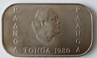 moeda de tonga