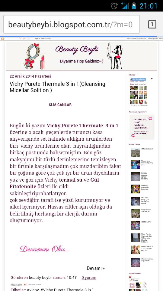 Blog Tasarladımmm=))