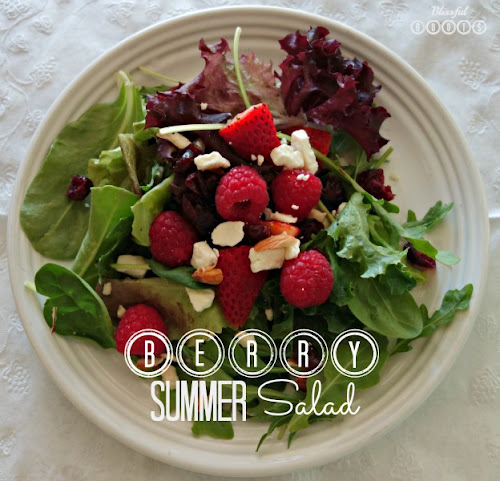 Berry Summer Salad from Blissful Roots