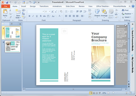 Brochure Backgrounds | Brochure Designs Pics