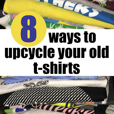 8 ways to upcycle your old t-shirts on While I'm Waiting...