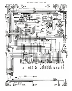 1962 Chevy II 4Cyl free auto wiring diagram april 2011 1972 nova wiring diagram at n-0.co