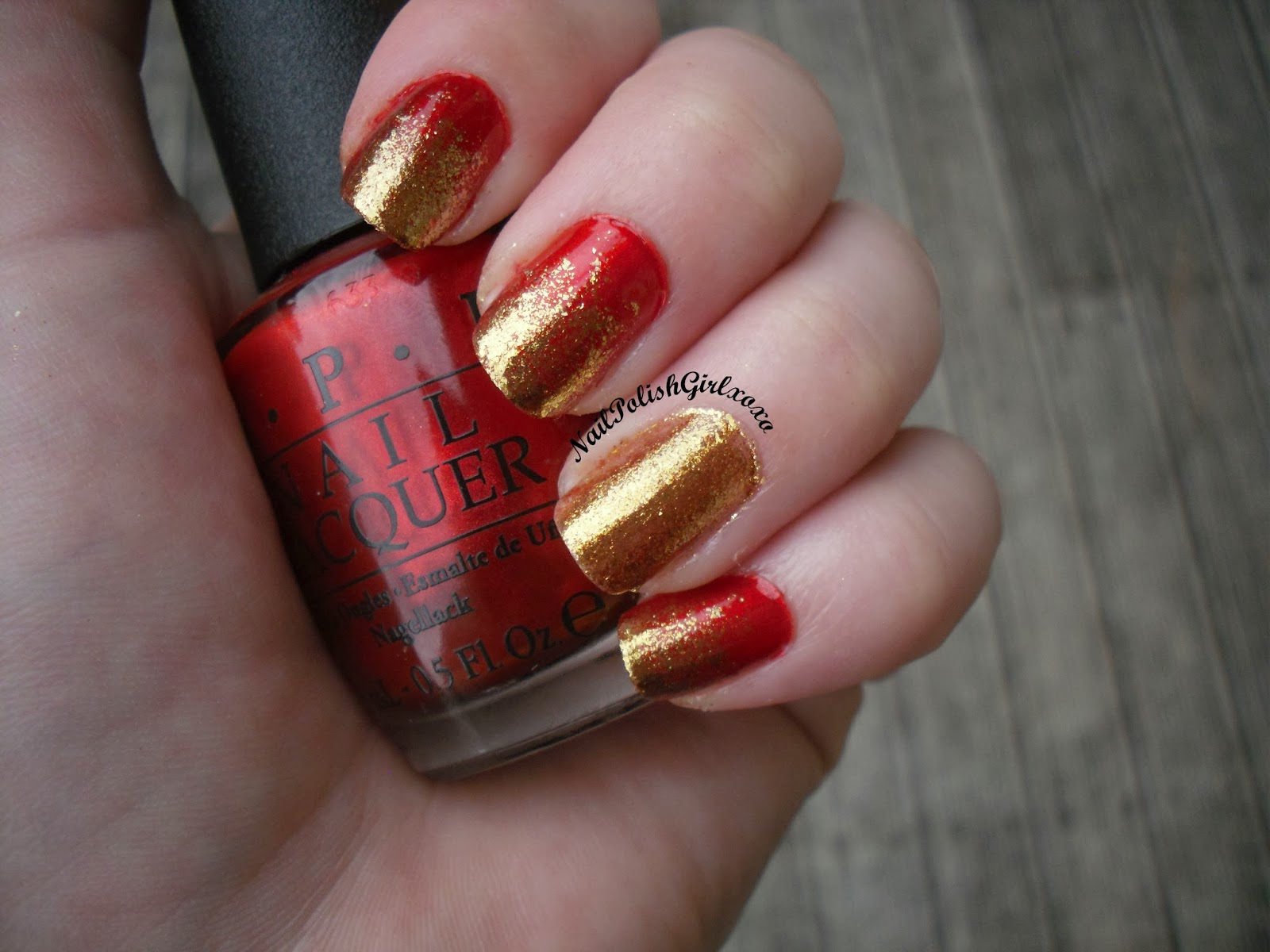 Die Another Day Goldeneye OPI Gradient