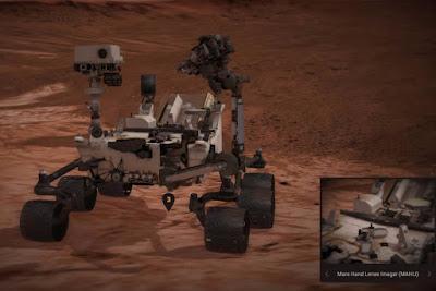 Explore a superfície de Marte com duas novas aplicações web da Nasa