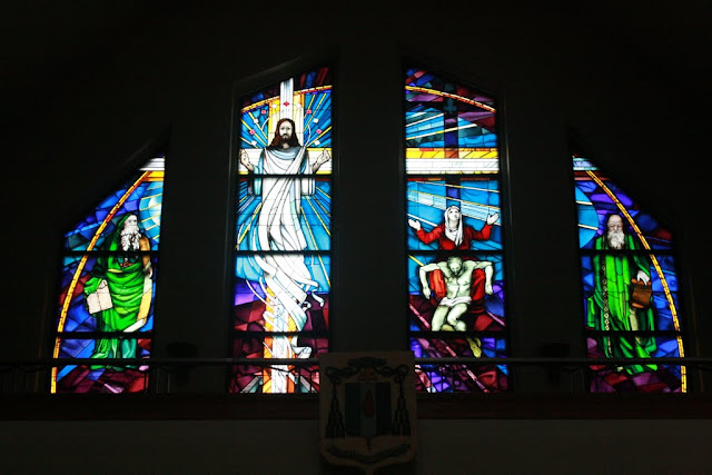 Stained Glass church window -- Ottawa, Ontario
