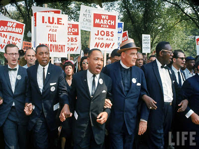 Martin Luther King Jr March Photo On August 28 1963