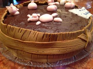 torta con maialini