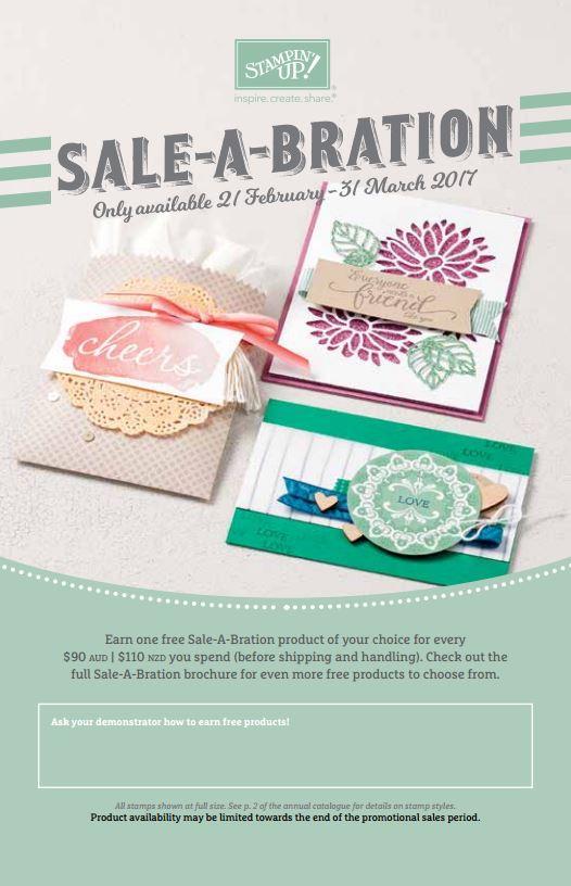 Sale-A-Bration 2nd Release Catalogue