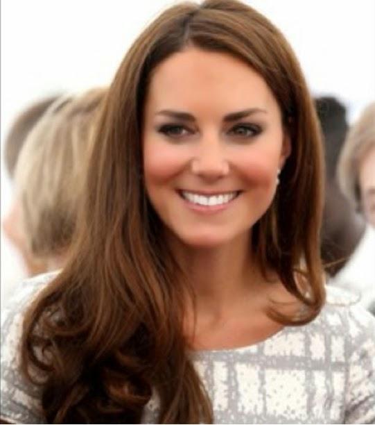 Kate Middleton cabelos