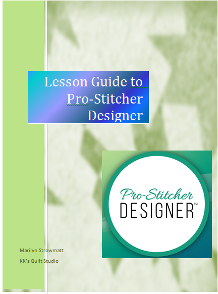 Let's Learn ProStitcher Designer
