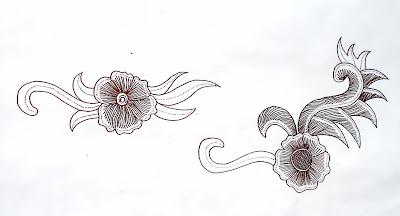 gbr.2 stilasi lain dari bunga
