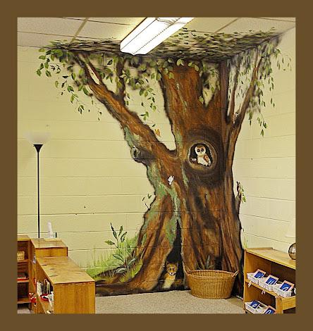 mural in a school